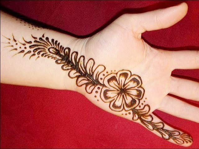 Simple Hand Mehndi Designs For Eid-ul-Fitr 2020