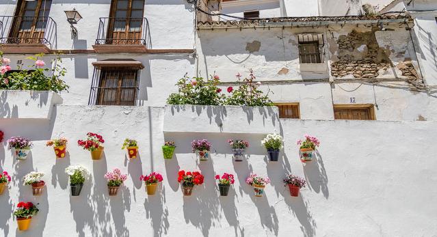 Setenil de las Bodegas in Spain