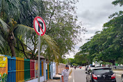 Demi Kelancaran Lalu Lintas: Dishub Kota Banda Aceh Himbau Pengunjung Agar Parkir Kendaraan Ke Dalam Lapangan Blang Padang