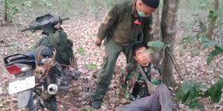 Satgas TNBB Sergap Pemburu Satwa, Dua Kepala Kijang Jadi BB