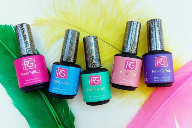 Pink Gellac - Miami Vibe Coleccion