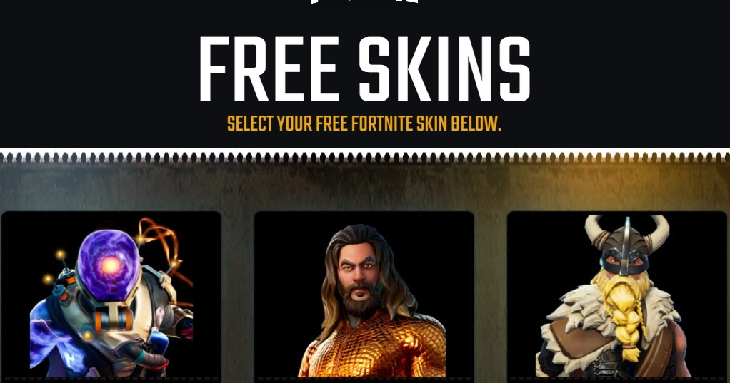 Fortgags.com   How to get Free Fortnite Skins from ...