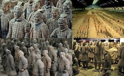 Terracotta Ordusu Nasıl Boyandı?