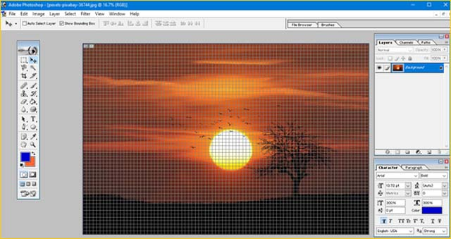 how-to-enable-grid-view-in-photoshop