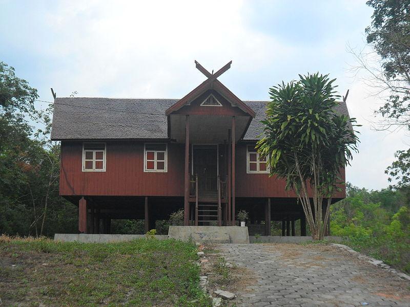 67 Koleksi Gambar Rumah Adat Kalimantan Barat Dan Penjelasannya Terbaru