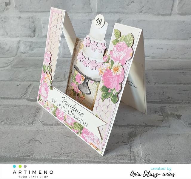 dekoracje kwiatowe, wykrojnik memory box