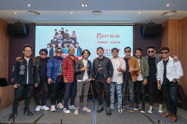 REPVBLIK & FRIEND MALAYSIA TOUR 2019 - MAESTRO MEDIA MY