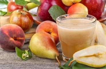 Peach and Apple Smoothie