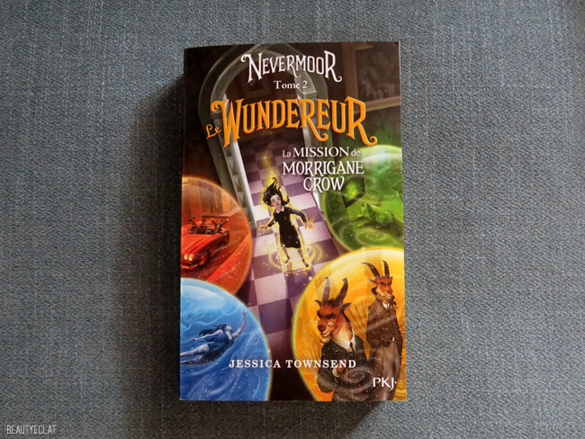 avis lecture wundereur nevermoor tome 2 jessica townsend
