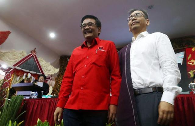 Djarot-Sihar Tiba di Medan, Besok Daftar ke KPU