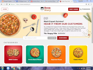 Get Rs.300 Or Above Food From Ovenstory