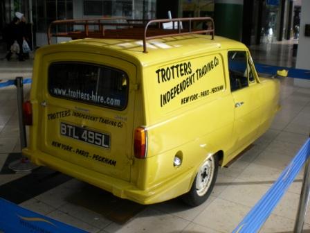 Del Boys van in Milton Keynes back in February 2012