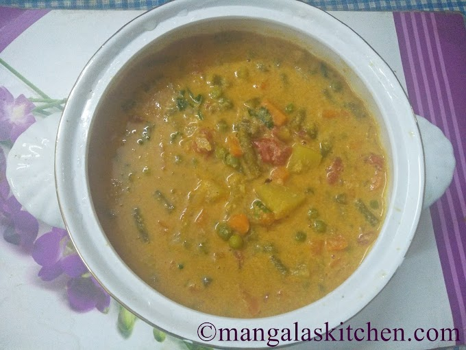 Hotel Style Vegetable Kurma | Chennai Parotta Kurma Recipe