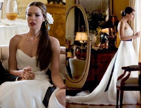 Ella Barrett On Film Fashion Wedding Dress Wednesday The