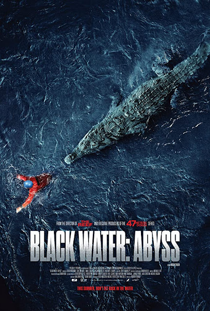 Sinopsis Film Black Water: Abyss (2020) - Jessica McNamee, Luke Mitchell