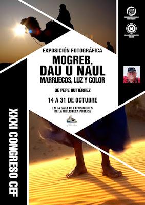 cartel 'Mogreb, Dau u Naul' de Pepe Gutiérrez