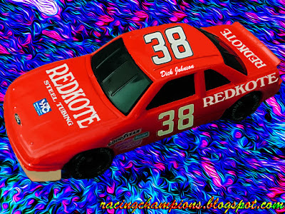 Dick Johnson #38 Redkote Ford Racing Champions 1/64 NASCAR diecast blog Red Kote 1989 1990 Winston Cup