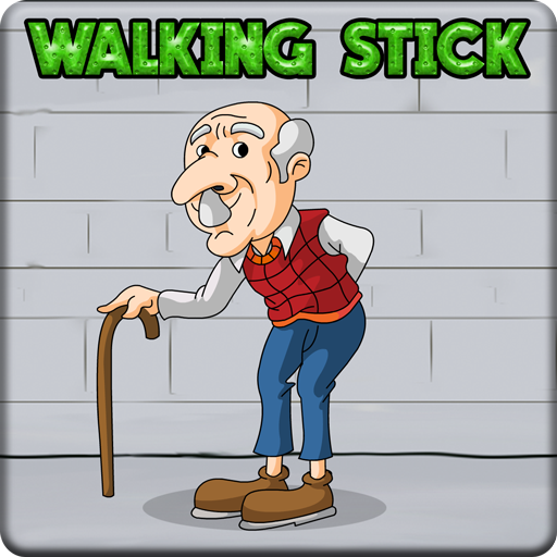 Old Man Walking Stick Esc…