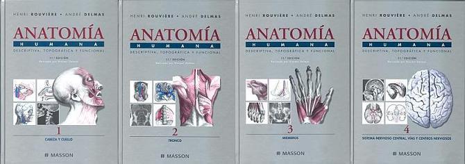 FisioBooks: Anatomía Rouviere 4 tomos 11ava. edi (Mega)