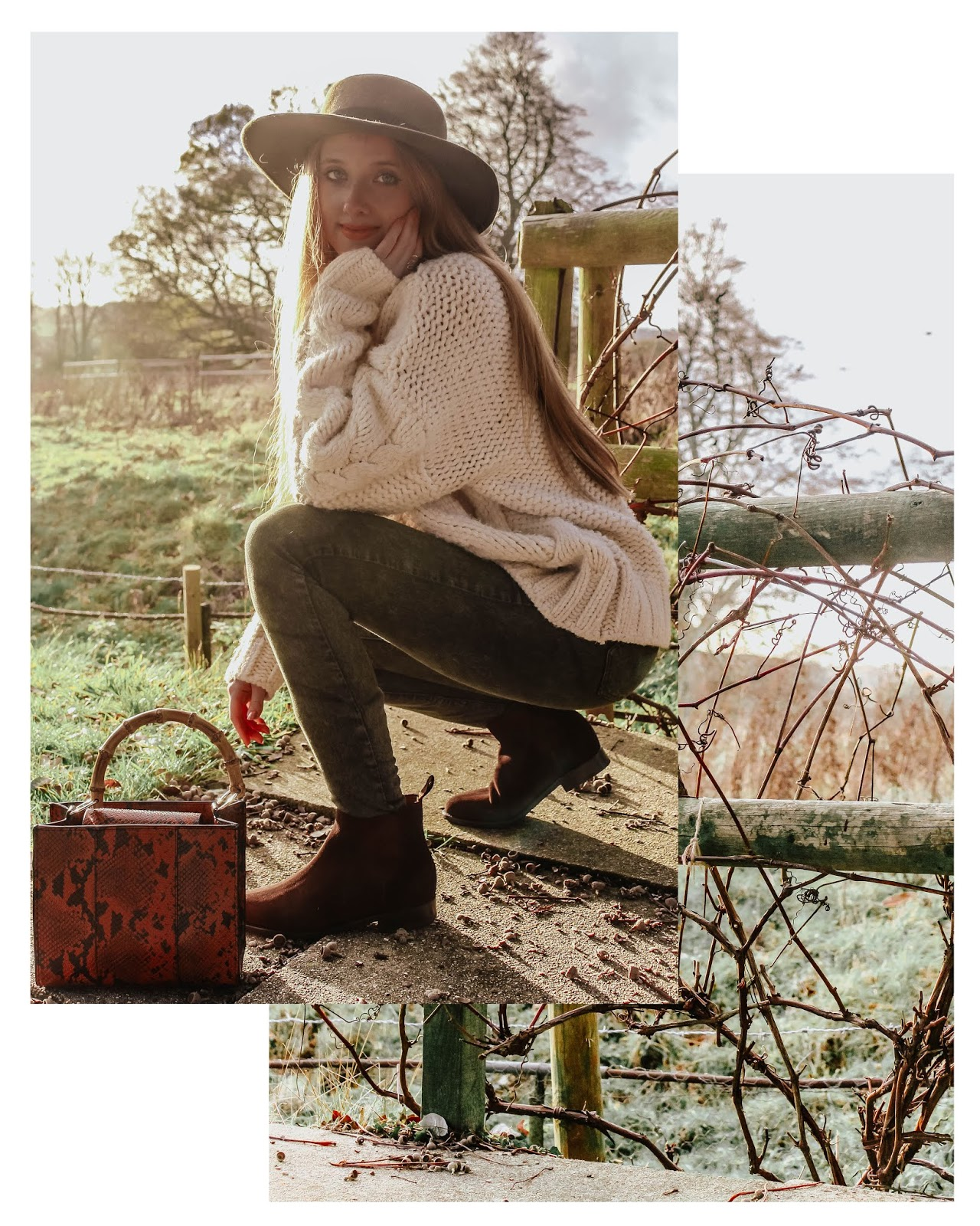 UK Fashion Blog Women's Countryside Styling