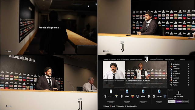 PES 2020 Juventus Press Room by Ivankr Pulquero