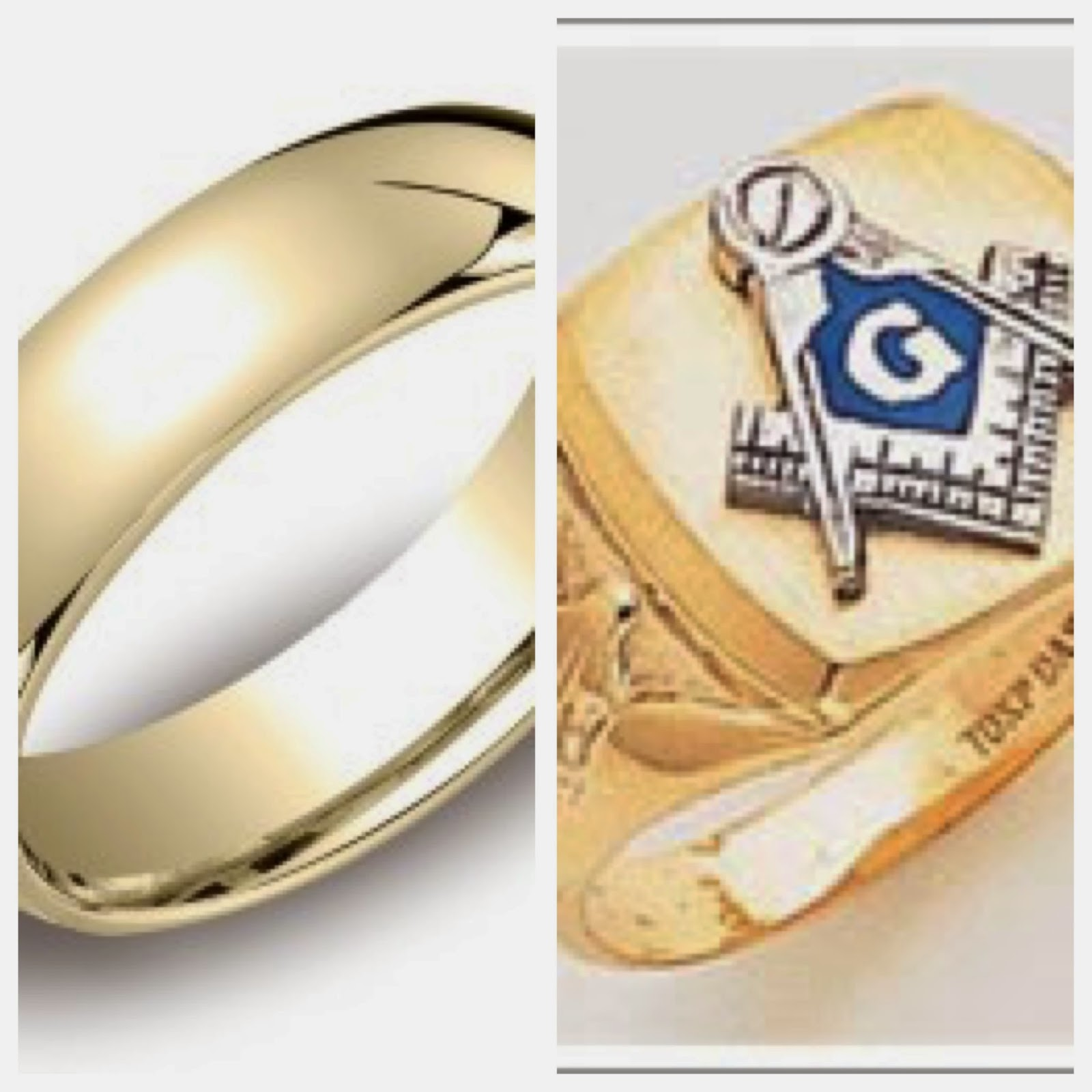 Wow new wedding rings Freemason wedding rings
