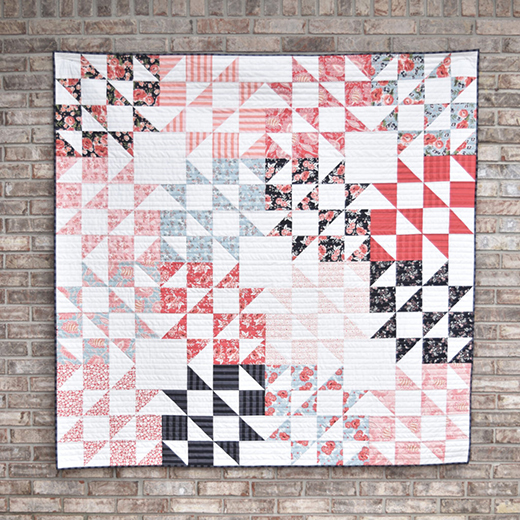 Daydreams Quilt designed by Amanda Castor of Material Girl Quilts, featuring Ava Kate Collection