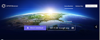Apus Browser, android