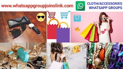 Cloth / Accessories Shopping WhatsApp Group Joins Link