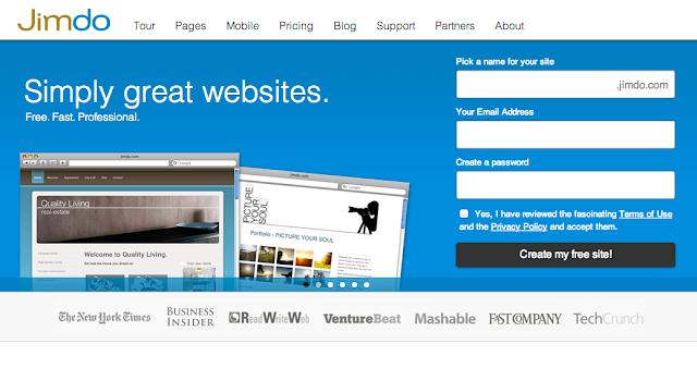 Jimdo là công cụ tạo web bán hàng khá phổ biến, tuy nhiên muốn có website chuyên nghiệp, bạn phải trả phí