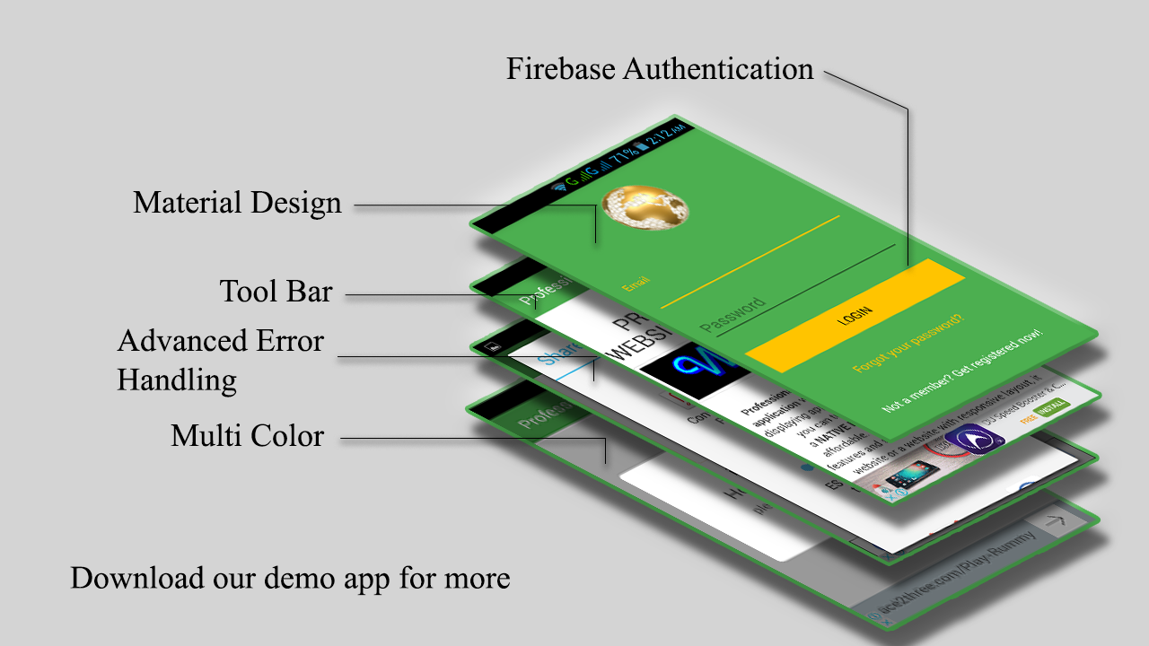 Android Professional Webview App With Firebase Backend And Admob by ...