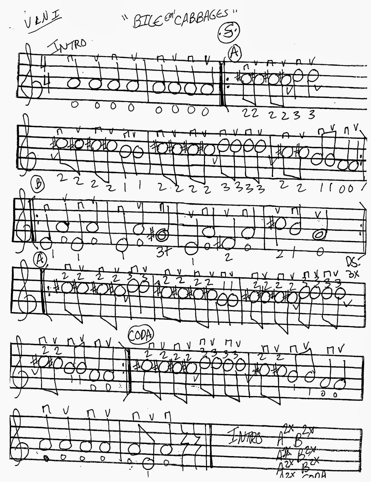 Miss Jacobson S Music Bile Cabbages Worksheets For