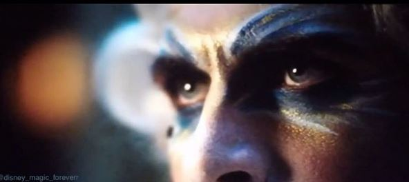 Principe a Bela e a Fera, olhos e maquiagem