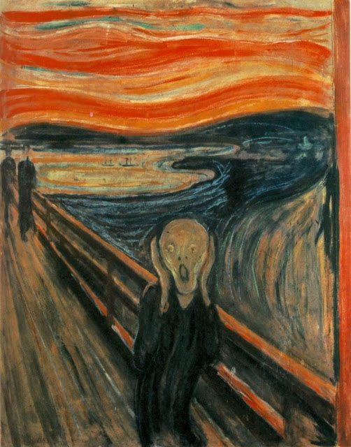 The Scream Munch Venus Rey Jr