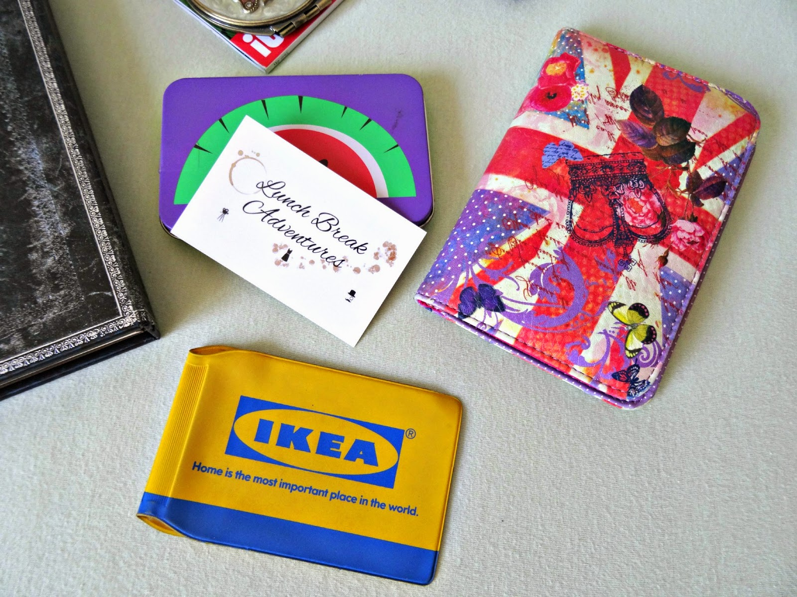 Oyster Card and Passport Holder