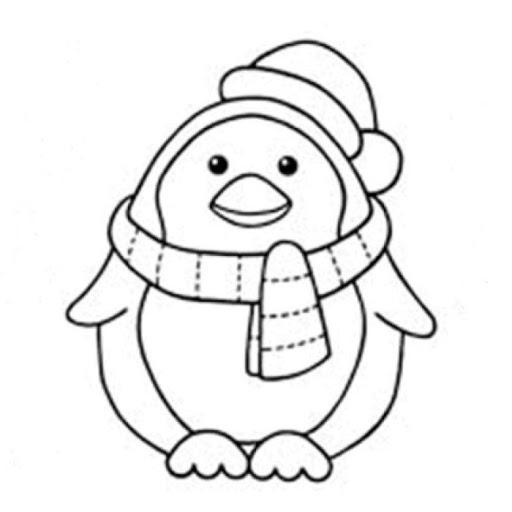 mewarnai gambar pinguin