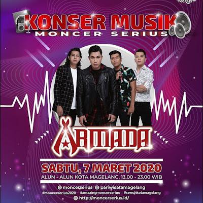 Konser Musik Armada Moncer Serius Alun - Alun Magelang