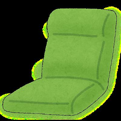 座椅子のイラスト