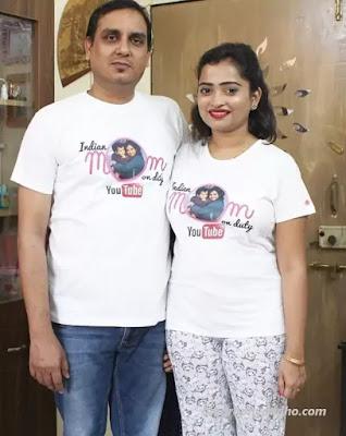 Kiran Raj Singh (Beautifulhamesha) Husband