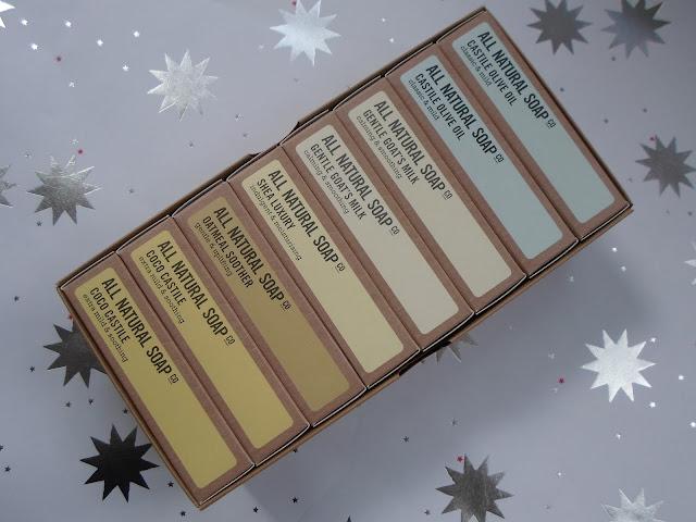 all natural soap for sensitive skin gift idea Christmas