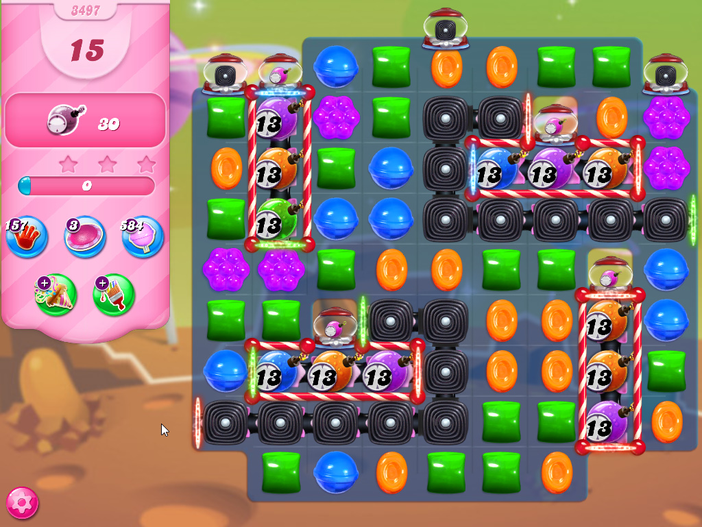 Candy Crush Saga level 3497