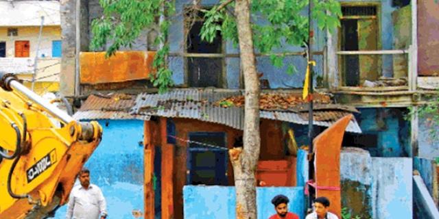 बैटमार विधायक वाला मकान 3 दिन बाद गिराया जाएगा   INDORE NEWS