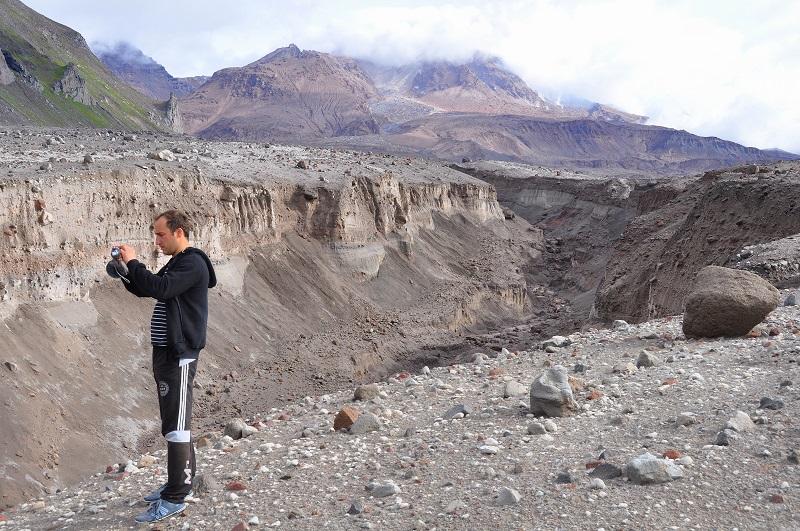 пейзажи вулкана шивелуч