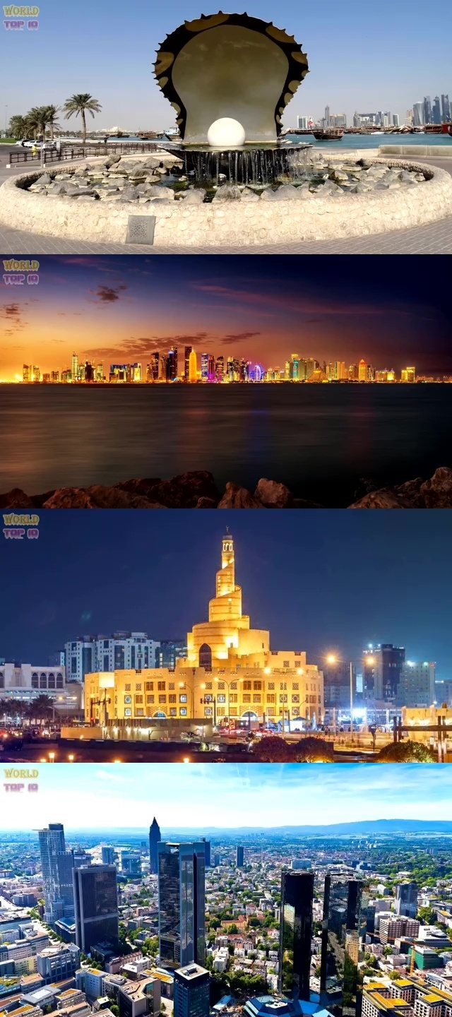 TOP 10 MOST BEAUTIFUL CITIES IN ASIA 2019 4. Doha, Qatar