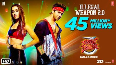Illegal Weapon 2.0 Lyrics - Street Dancer 3D | Song Download MP3 & MP4
