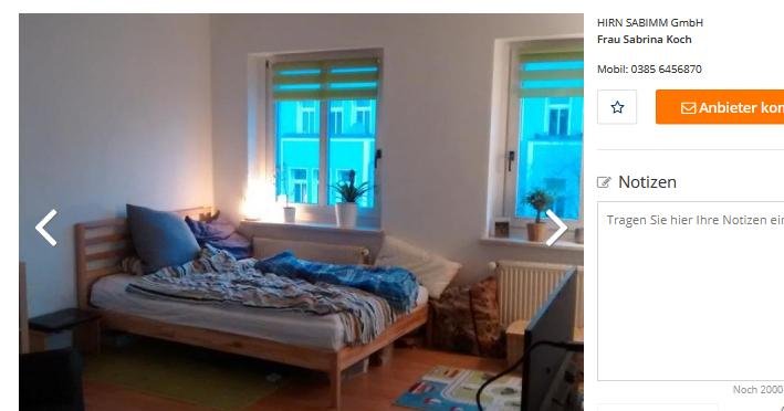 Wohnung Rostock Ktv