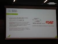 Solaris - CAF, konferencja prasowa