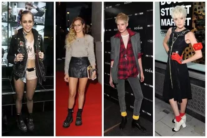 punk style woman