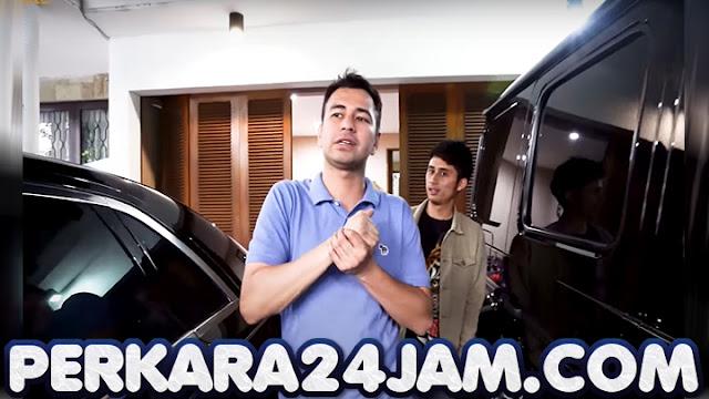 Untuk Parkir 8 Mobilnya, Raffi Ahmad Bangun Ruang Bawah Tanah