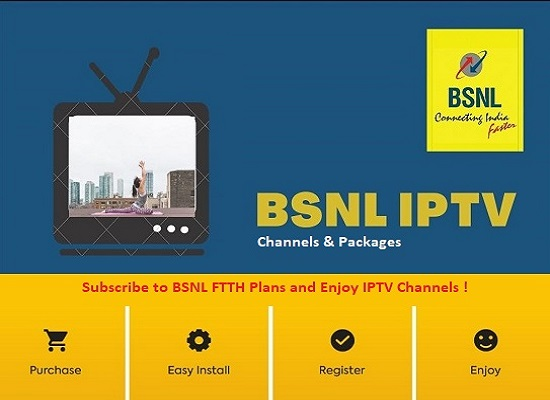 Exclusive: BSNL IPTV Channel list and tariff plans released, plans starting from Rs 100 on wards